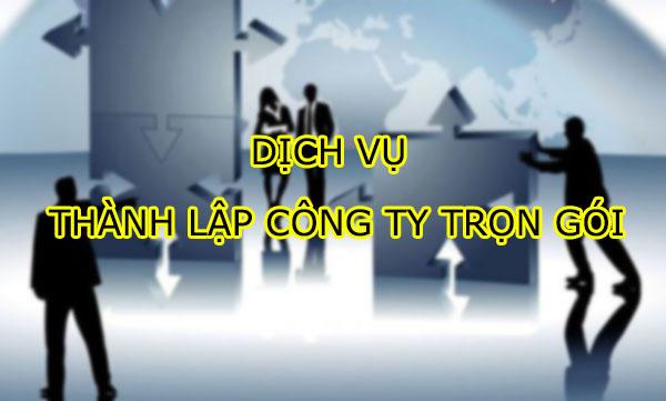 Dịch vụ thành lập công ty tại quận Tân Bình HCM 200.000đ