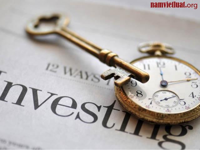 Thủ tục thay đổi giấy chứng nhận đầu tư
